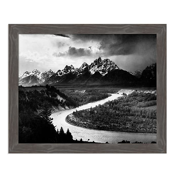 Alternate image 1 for Amanti Art The Tetons - Snake River, 1941 Framed Canvas Wall Art