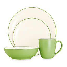 Noritake® Colorwave Coupe 4-Piece Place Setting in Green Apple