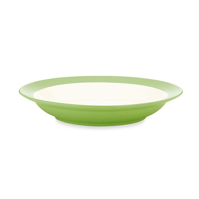 Alternate image 1 for Noritake® Colorwave Rim Pasta Bowl in Apple