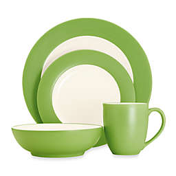 Noritake® Colorwave Rim 4-Piece Place Setting in Green Apple
