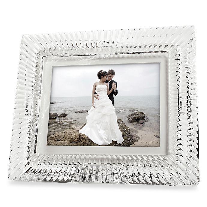 Waterford® 8-Inch Crystal Digital Photo Frame | Bed Bath & Beyond