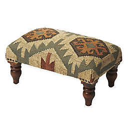 Butler Specialty Company Wool Mountain Lodge Ottoman