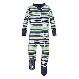 Burt's Bees Baby® Multi-Stripe Vintage Sleeper in Green