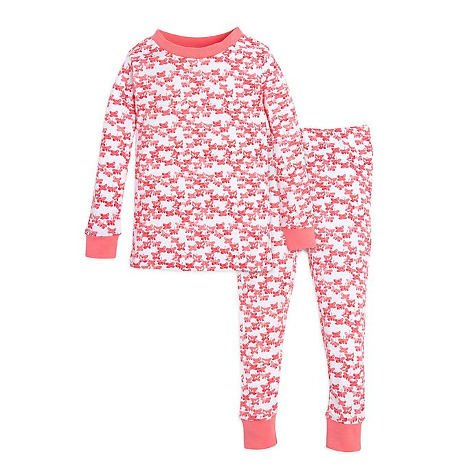 68e68eb98 Burt's Bees Baby® Butterfly Escape Footed Pajama in Pink | buybuy BABY