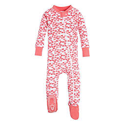 Burt's Bees Baby® Butterfly Escape Footed Sleeper in Pink