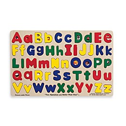 Melissa & Doug® Upper and Lowercase Alphabet Puzzle
