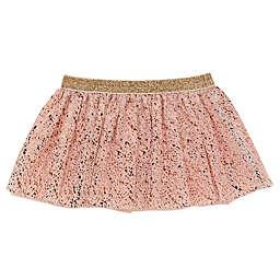 Baby Starters® Size 12M Foil Speckle Tutu Skirt in Pink/Rose Gold