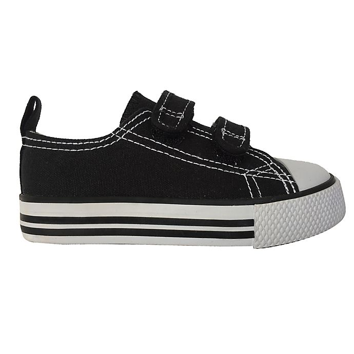 Alternate image 1 for Canvas Shoes in Black