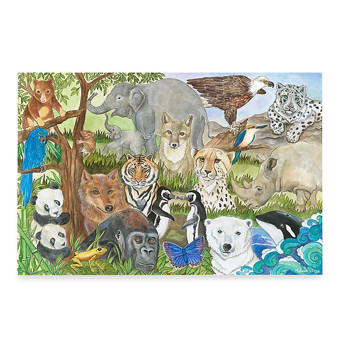 Melissa Doug Endangered Species 48 Piece Floor Puzzle