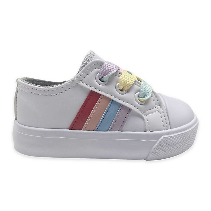 Alternate image 1 for Rainbow Casual Shoes in White