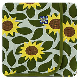KicKee Pants® Sunflower Swaddling Blanket