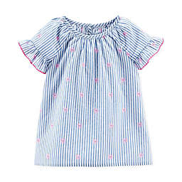 carter's® Chambray Stripe Top