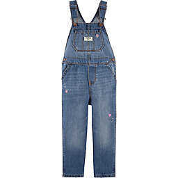 carter's® Classic Denim Overalls in Upstate Blue