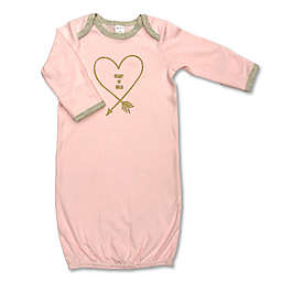 """""""Heart of Gold"""" Gown in Pink"""