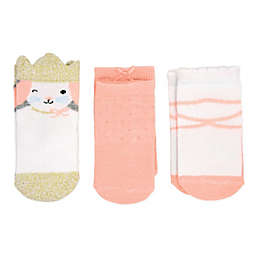 carter's® 3-Pack Princess Crew Socks