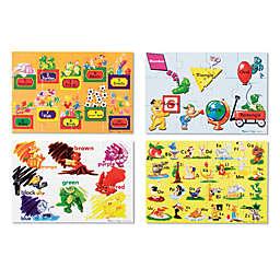 Melissa & Doug® Beginning Skills Floor Puzzles (Set of 4)