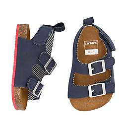 carter's® Cork Sole Sandals in Navy