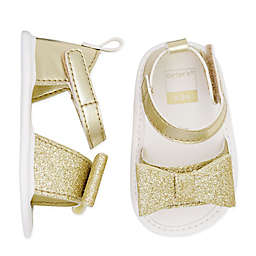 carter's® Glitter Sandals in Gold
