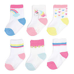 carter's® 6-Pack Unicorn Crew Socks