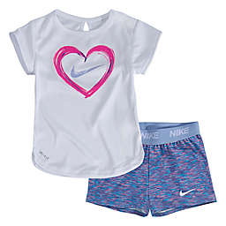749dad603d08 Nike® 2-Piece Dry-FIT Space-Dye Heart Top and Short Set