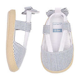 carter's® Striped Bow Espadrilles