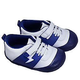 ro+me by  Robeez® Alex Athletic Bumper Sneaker in Navy/White