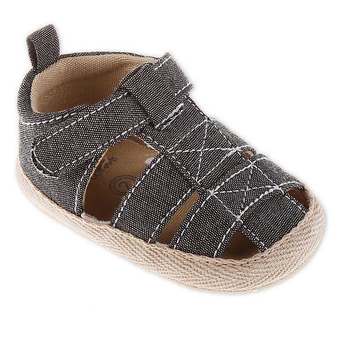 Alternate image 1 for Stepping Stones Canvas Espadrille Sandals in Grey