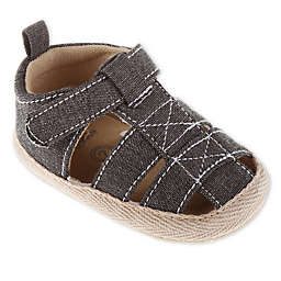 Stepping Stones Canvas Espadrille Sandals in Grey