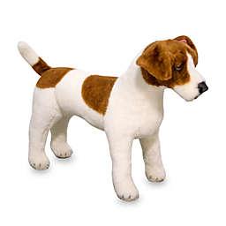 Melissa & Doug® Jack Russell Terrier Dog Giant Stuffed Animal