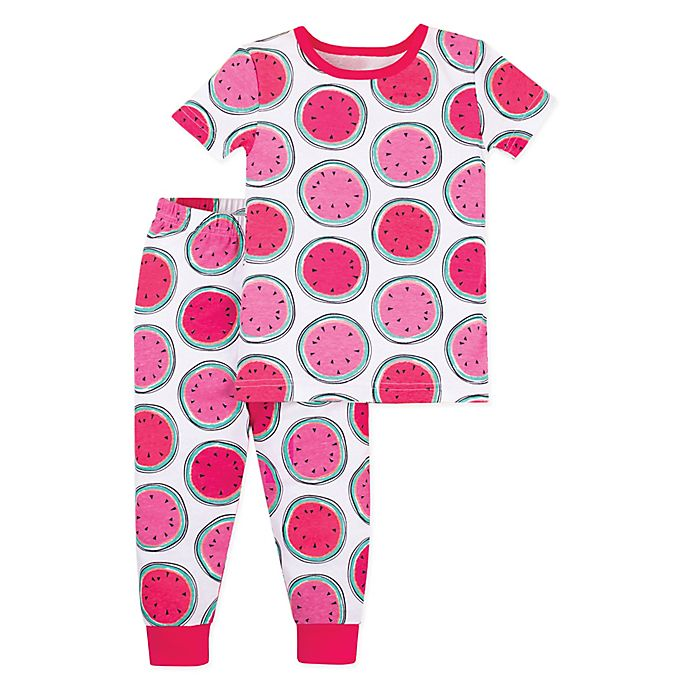 57a93a734 Lamaze 2-Piece Watermelon Organic Cotton Pajama Set | buybuy BABY