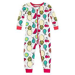 Lamaze® Long Sleeve Fruit Organic Cotton Pajama in White