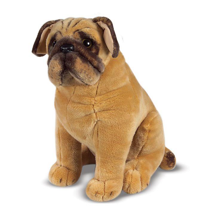 Alternate image 1 for Melissa & Doug® Pug Dog Stuffed Animal