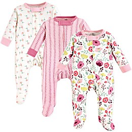 Touched by Nature® Botanical 3-Pack Organic Cotton Sleep and Play Sleeper