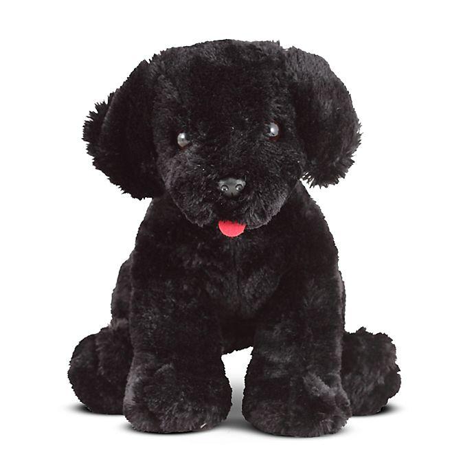 Alternate image 1 for Melissa & Doug® Benson Black Lab Stuffed Animal