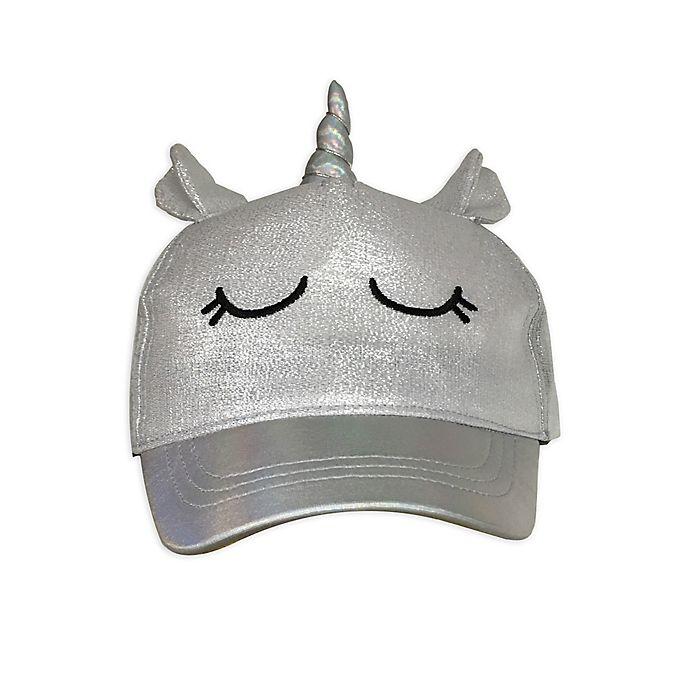 Alternate image 1 for Toby Fairy™ Unicorn Baseball Cap in Grey