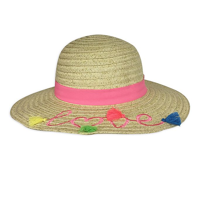 Alternate image 1 for Toby Fairy™ Love Floppy Hat in Pink