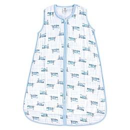 Luvable Friends® Train Wearable Blanket in Blue