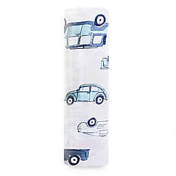 aden + anais® Hit The Road Swaddle Blanket in Blue