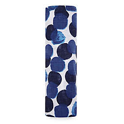aden + anais® Searfaring Swaddle Blanket in Blue