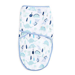 aden® by aden + anais® Baby Dino Size 3-6M Swaddle in Blue