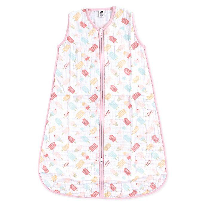 Alternate image 1 for Hudson Baby® Ice Cream Wearable Blanket in Orange