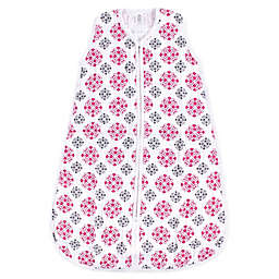 Yoga Sprout Medallion Muslin Sleeping Bag in Pink