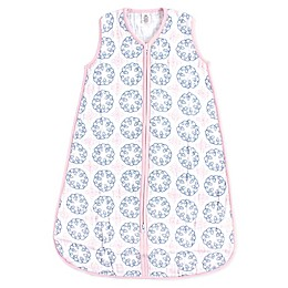 Yoga Sprout Whimsical Muslin Sleeping Bag in White