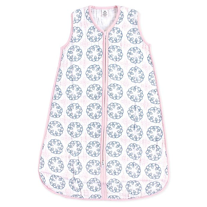 Alternate image 1 for Yoga Sprout Whimsical Muslin Sleeping Bag in White
