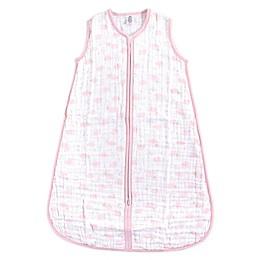 Yoga Sprout® Sky Muslin Sleeping Bag in Pink
