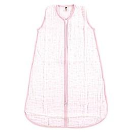 Hudson Baby® Stars Muslin Sleeping Bag in Pink