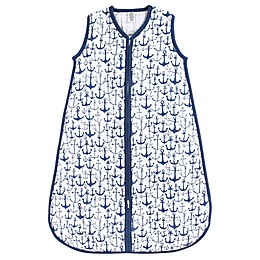 Yoga Sprout® Anchor Muslin Sleeping Bag in Navy
