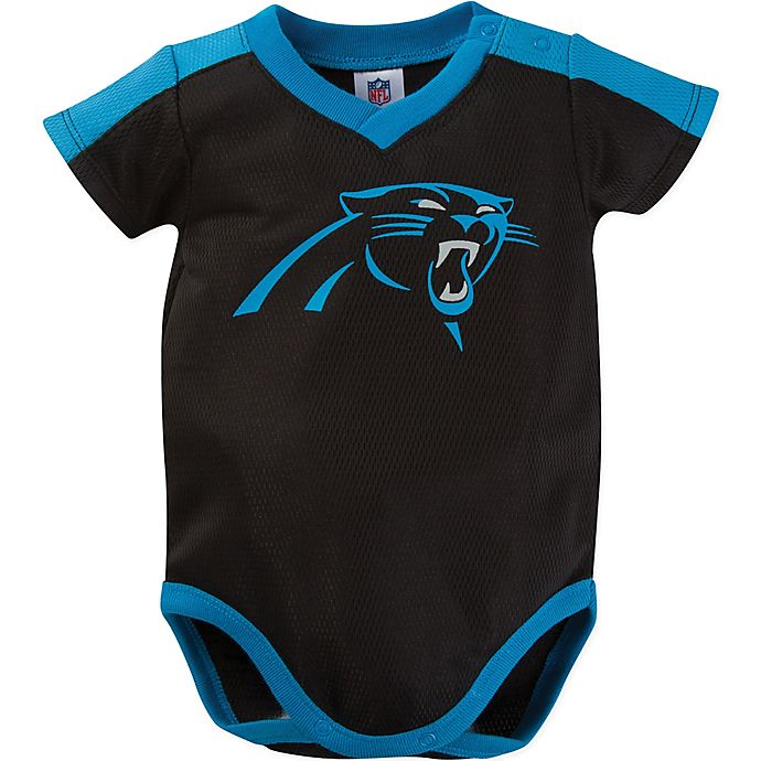 Alternate image 1 for NFL Dazzle Panthers Bodysuit