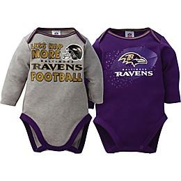 NFL Baltimore Ravens 2-Pack Bodysuit