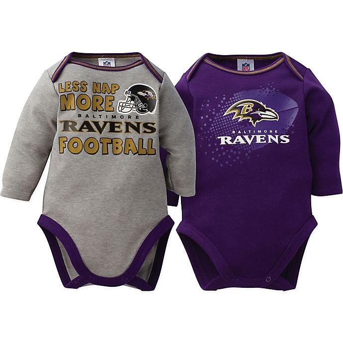 683927b06 NFL Baltimore Ravens 2-Pack Bodysuit | buybuy BABY